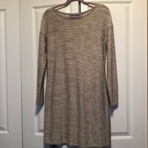 Athleta Grey Knit Dress